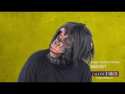 Super Action Chimp Mask | Zagone Studios