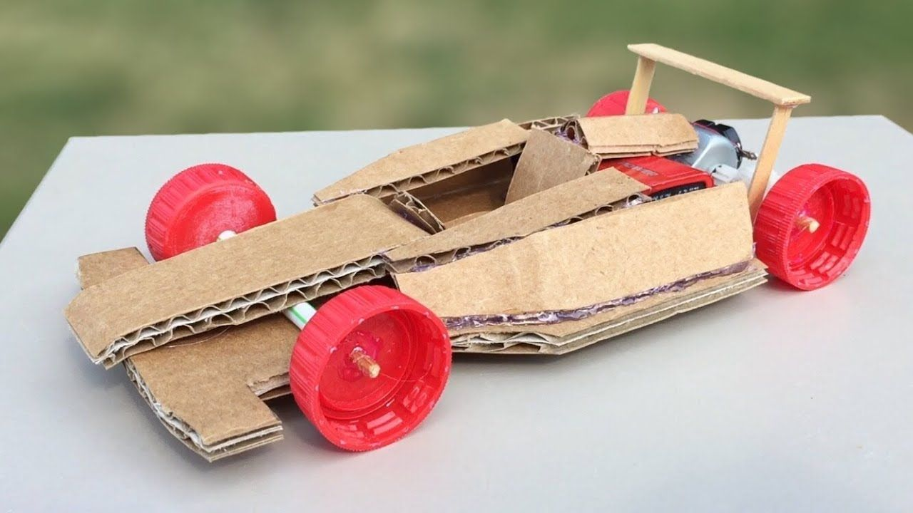 How To Make Amazing F1 Racing Car Out Of Cardboard Diy