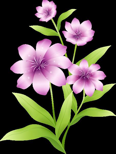 Large Light Pink Flowers Clipart | clip art mix ...