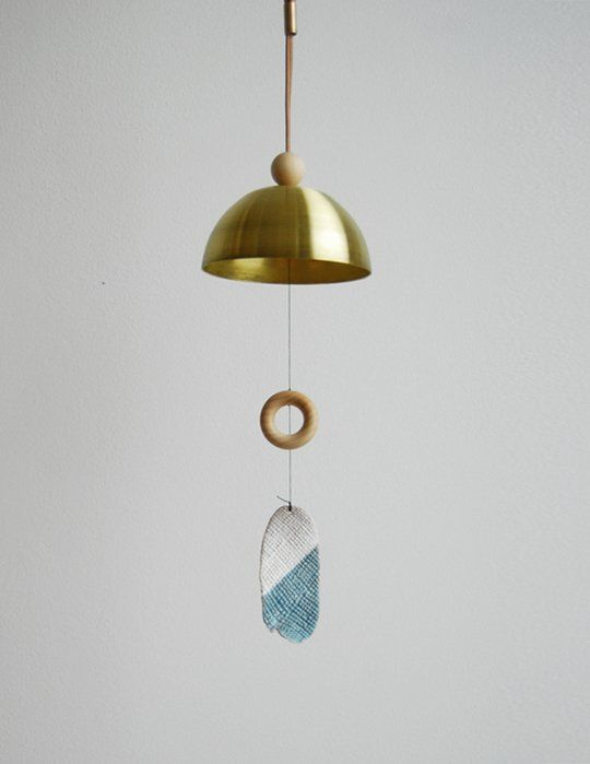 Form Function Holiday Gifts For The Design Minded Modern Wind Chimes Brass Bells Chimes