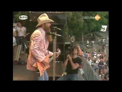 Superb ZZ Top Live 1982 Party On The Patio/La Grange/Tush
