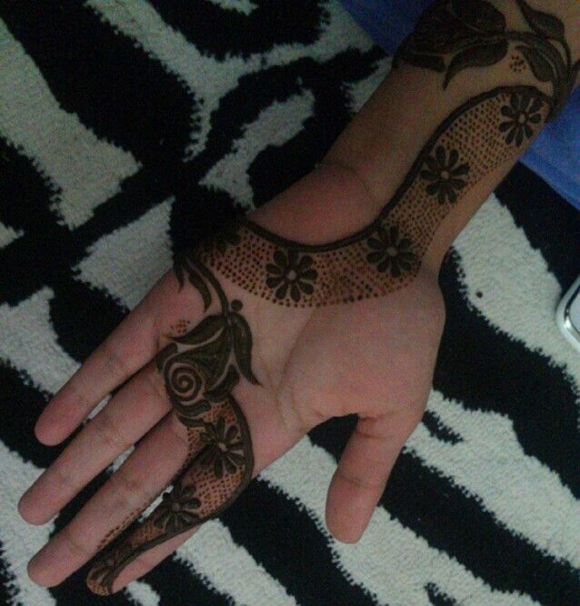 Khaleeji Henna Designs Tattoo: Unique Khaleeji Design #Henna #mehndi #HennaArt