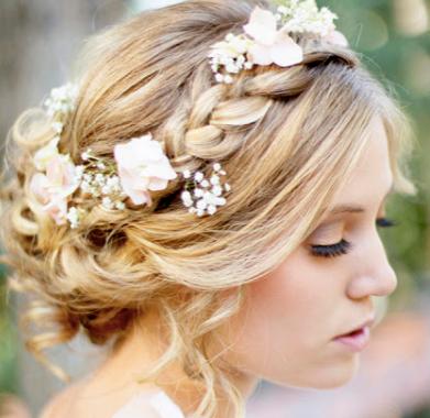 Peinados Para 15 Años Recogidos Con Trenzas Bridal Hairstyridal