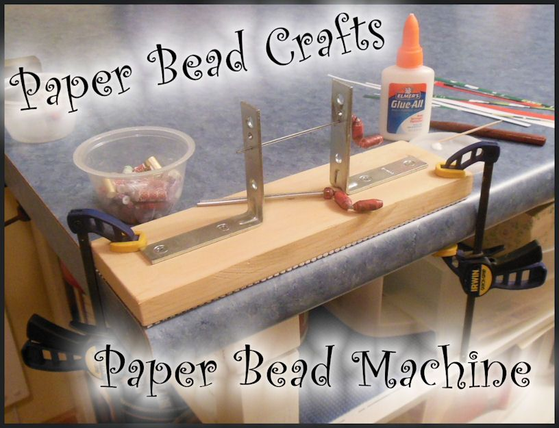 $14.95  Paper Bead Machine, helps to make long pipe type beads as well as regular paper beads for all sorts of Jewelry projects.