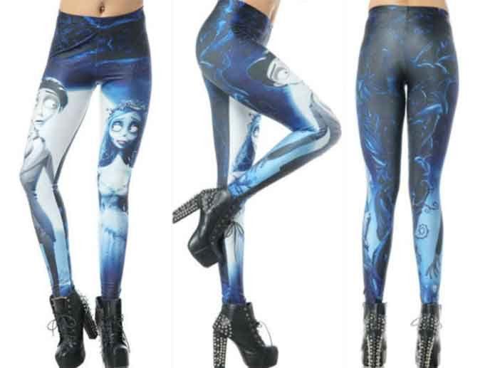 229d701ca9df Corpse Bride Leggings – Lotus Leggings | this girl has style ...