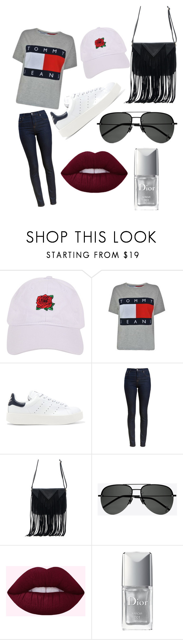 """""""My kind of Casual Style"""" by laceygail ❤ liked on Polyvore featuring Armitage Avenue, Tommy Hilfiger, adidas Originals, Barbour, WithChic, Yves Saint Laurent and Christian Dior"""
