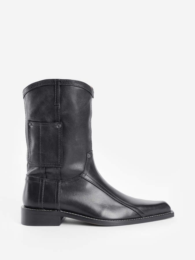 2ced2a26981 Martine Rose BLACK COWBOY BOOTS in 2019 | Products | Black cowboy ...
