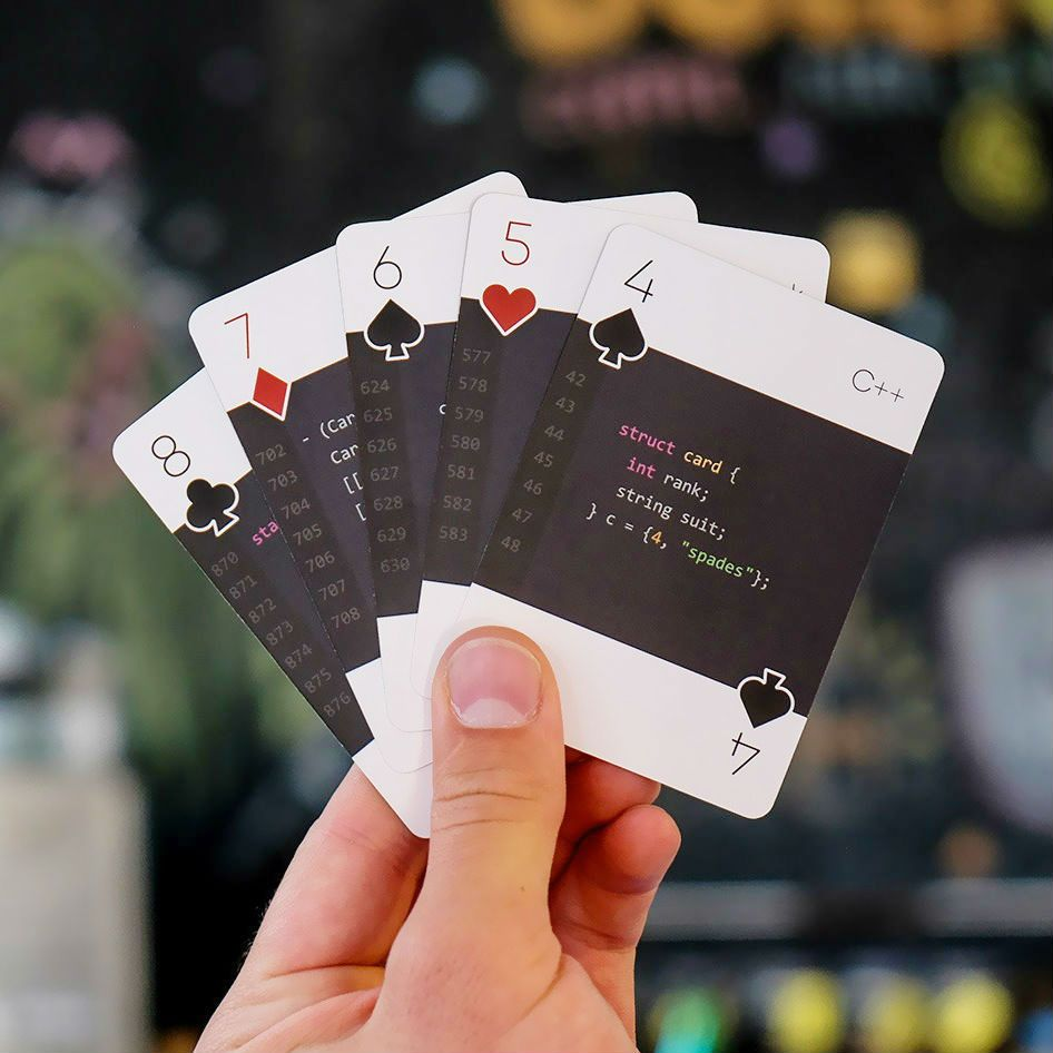 Programming Playing Cards With Images Unique Playing Cards Cards
