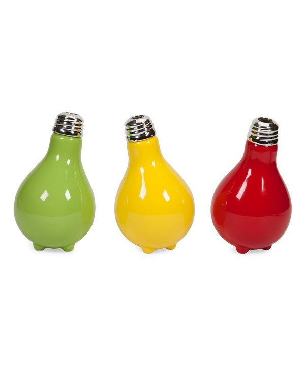 Look at this IMAX Hamon Light Bulb Vase Set on #zulily today!