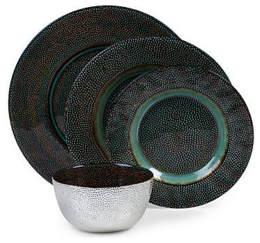 Verdi Dinnerware - Set of 4 modern dinnerware  sc 1 st  Pinterest & Verdi Dinnerware - Set of 4 modern dinnerware | Dining: Mercury ...