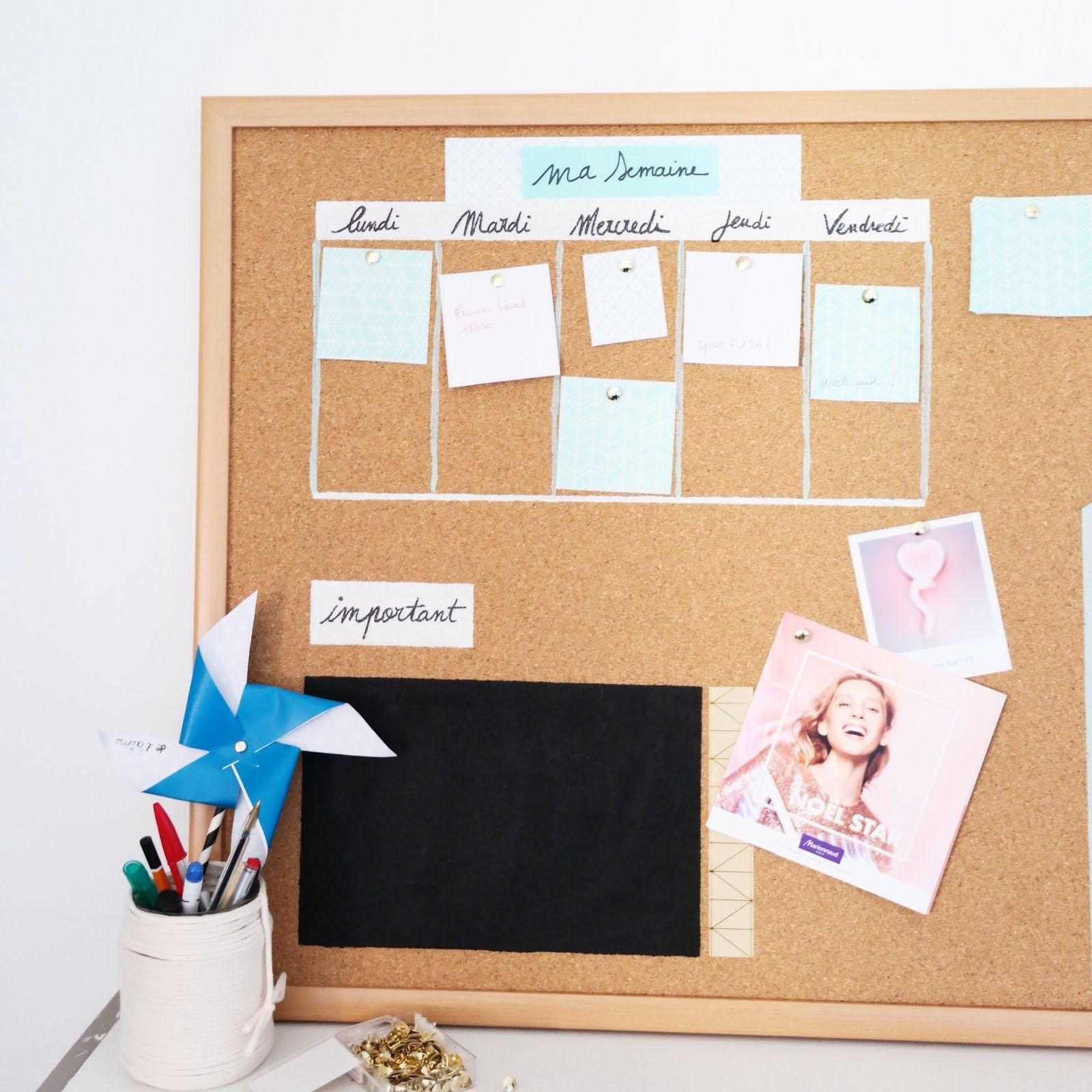 tableauliegeorganisationbureaudiy chambre Pinterest DIY