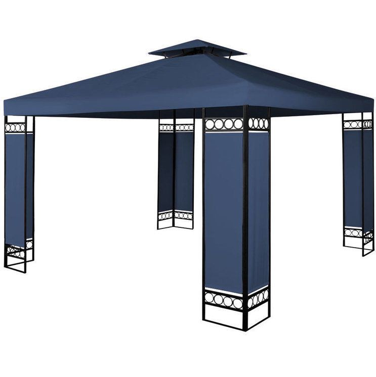 Outdoor Tent Gazebo Patio Garden Structures Shade Large Modern ...