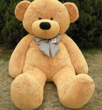 omg a 6 foot teddy bear what girl wouldnt want a movie night