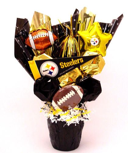 Send a Steelers Fan the perfect cookie gift! Nationwide delivery.