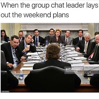 Luckily Every Group Chat Has A Mum Friend Who Is The Unelected Leader Of The Chat Group Of Friends Quotes Group Text Meme Friends Funny