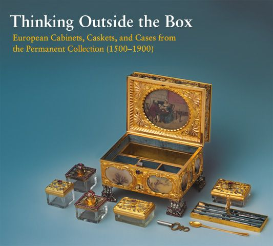 For centuries, boxes, caskets, cabinets, and chests played an important role in everyday life. Ranging from strongboxes to travel cases and from containers for tea or tobacco to those for the storage of toiletries or silverware, these lidded pieces were made in a large variety of shapes and sizes, and of many different materials. The form and decoration of these objects not only reflect changes in social customs and manners but also follow the stylistic developments in Europe over four…