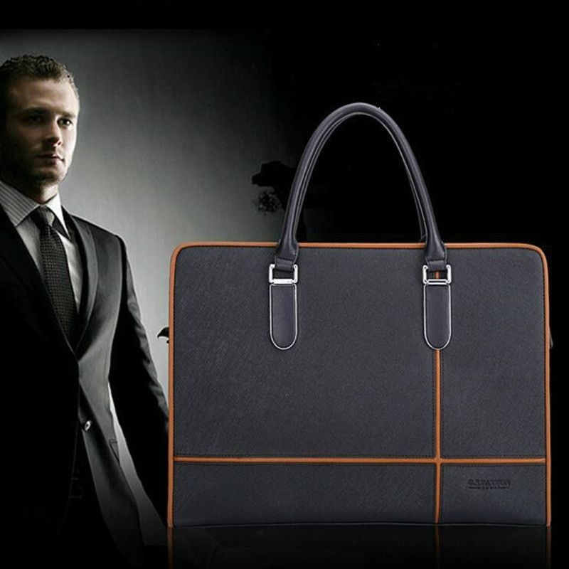 Genuine Leather Men Top-handle Bags High Quality Brand Bag Business Laptop  Briefcase Man Shoulder Bags Male Real … in 2020 | Man bag, Laptop briefcase  men, Mens leather bag