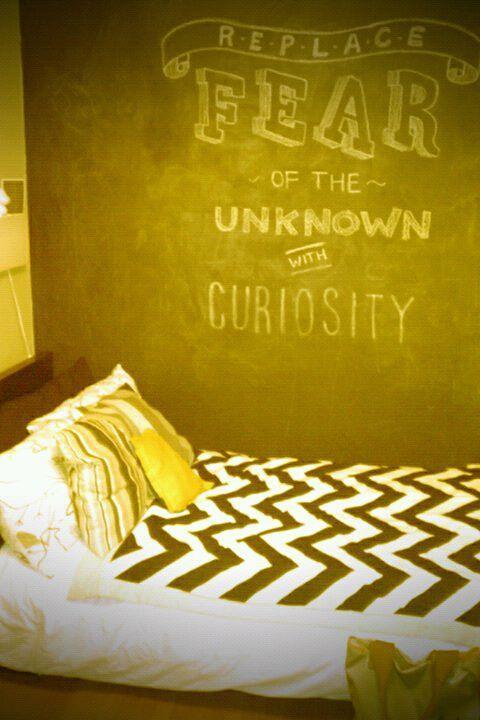 Chalk board wall | chalkboard wall ideas. | Pinterest