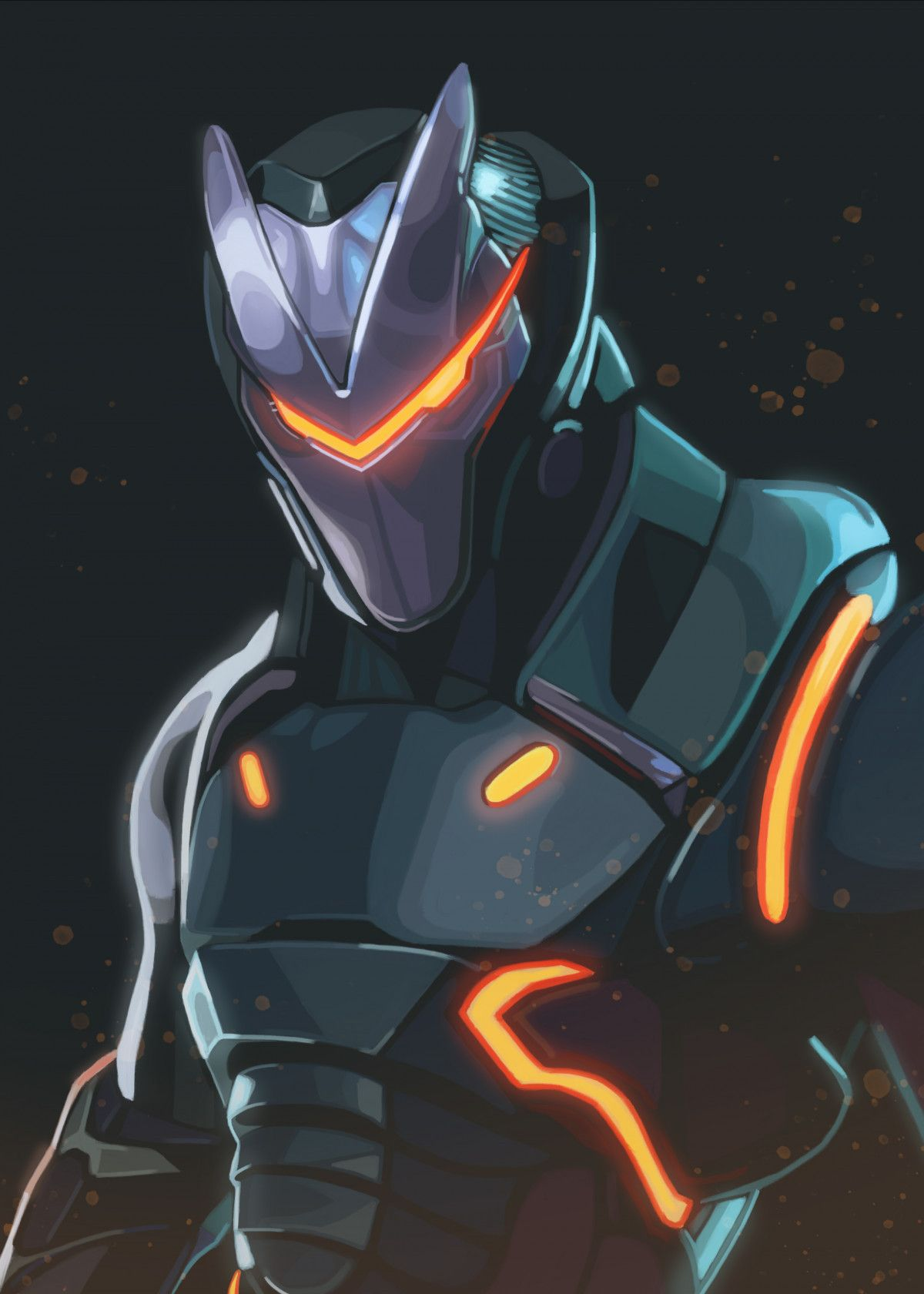 Omega By Waldemar Kret Metal Posters Fortnite Season 4
