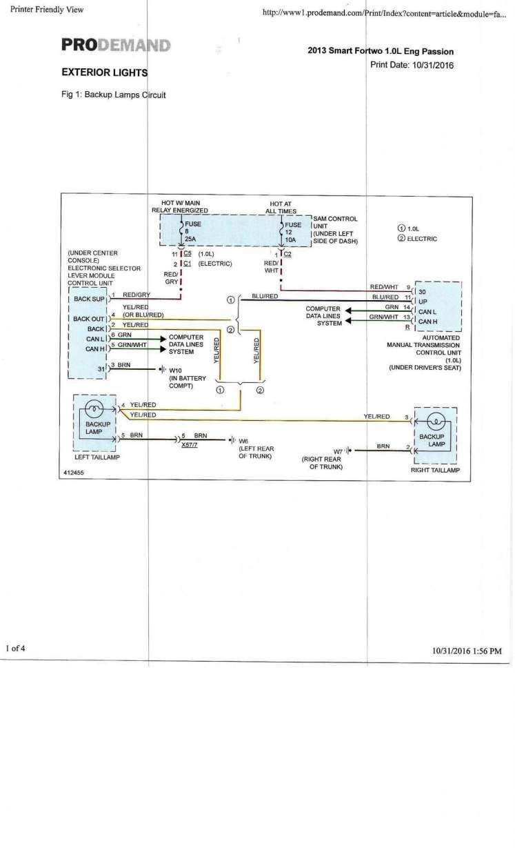 17+ Smart Car 451 Wiring Diagram - Car Diagram - Wiringg.net in 2020 | Smart  car, Car headlights, DiagramPinterest