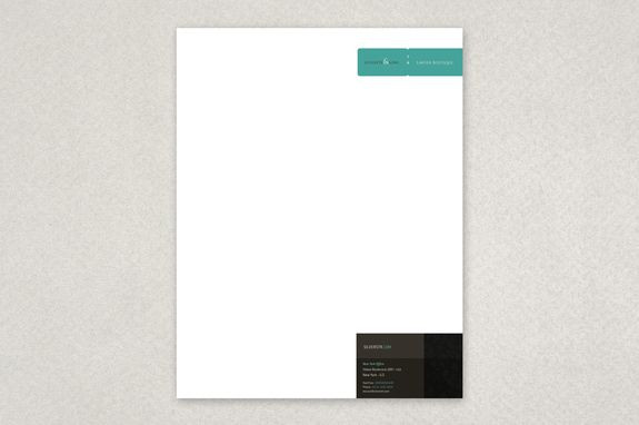 Classy Law Firm Letterhead Template - The deep colors and patterns - legal letterhead template