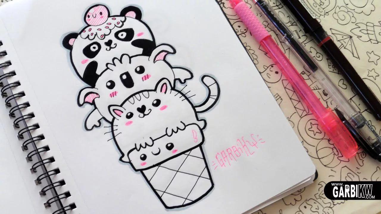 Картинки для срисовки в личный дневник ручкой