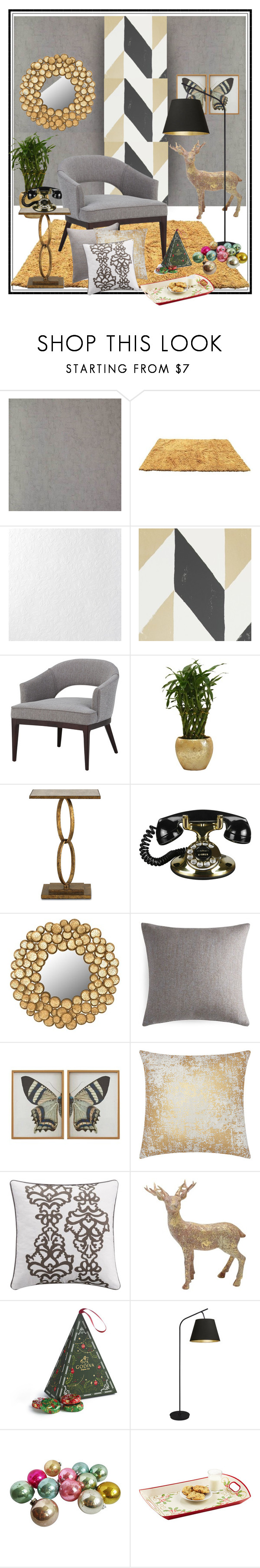 """COZY CORNER!!!"" by kskafida ❤ liked on Polyvore featuring interior, interiors, interior design, home, home decor, interior decorating, Graham & Brown, Simpli Home, Safavieh and Pratesi"
