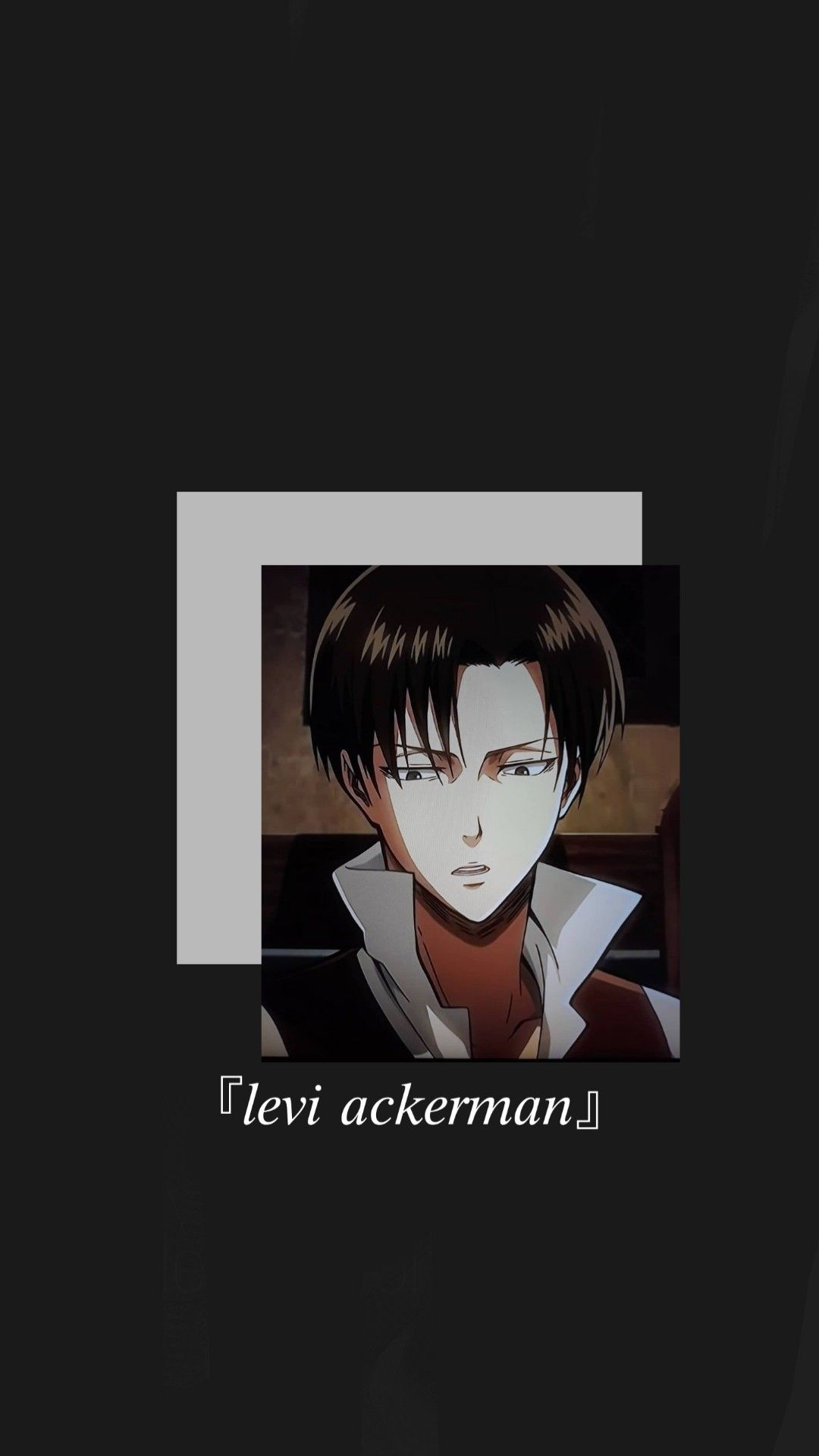 Levi Ackerman Wallpaper Cute Anime Wallpaper Cool Anime Pictures Attack On Titan Anime