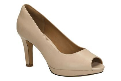 e5c48237a0a Womens Smart Shoes - Delsie Britta in Nude Leather from Clarks shoes ...