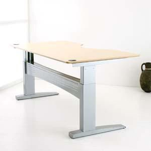 ConSet 50111 Adjustable Height Sit to Stand Electric Desk Work