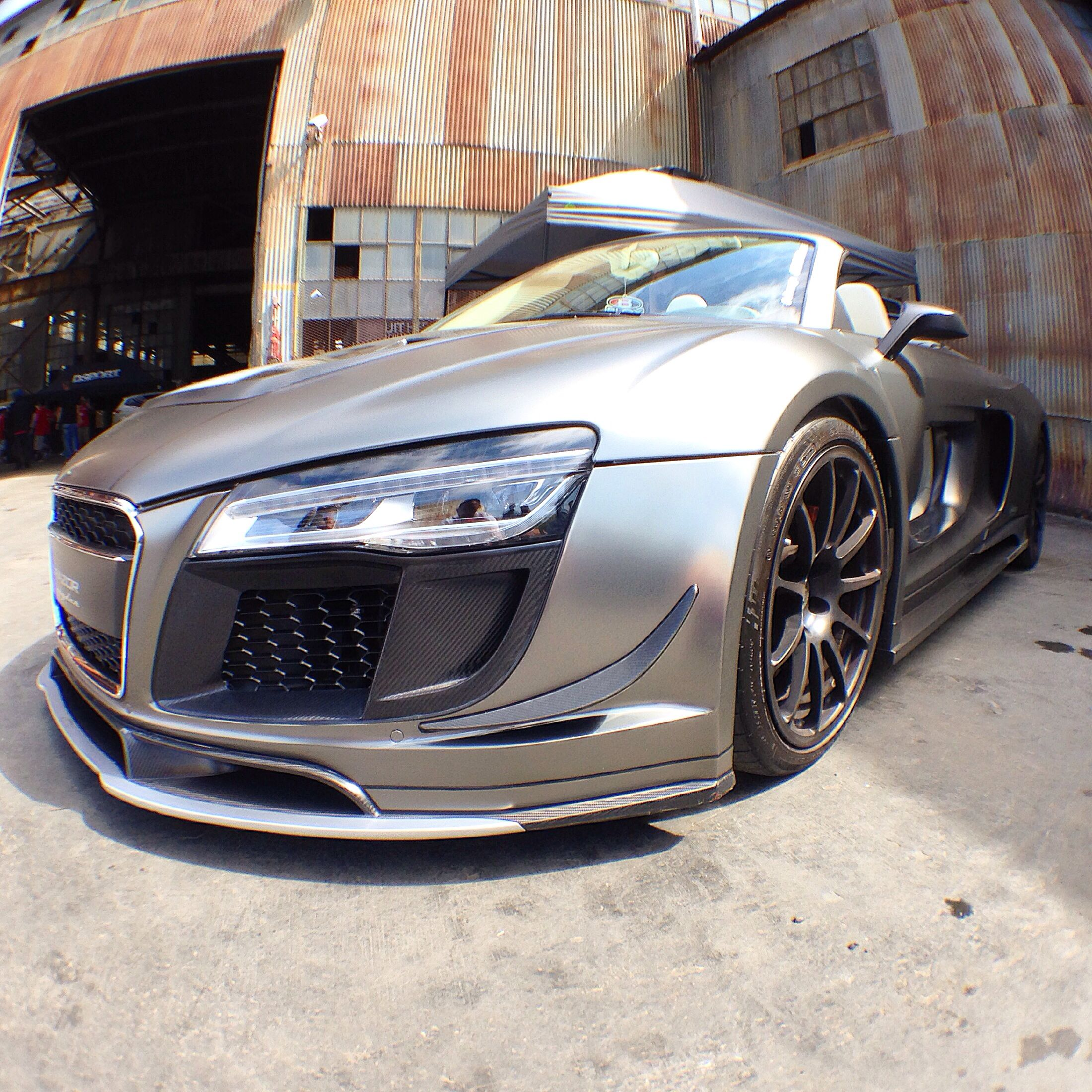 Custom Audi R8! Photo Taken At The Blox Evolution 2014 Car