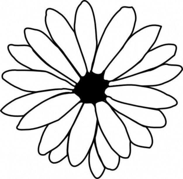 traceable flower outlines - ClipArt Best - ClipArt Best ...