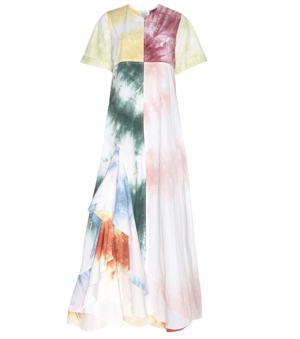 ROSIE ASSOULIN Gonzo Printed Cotton Dress. #rosieassoulin #cloth #dresses