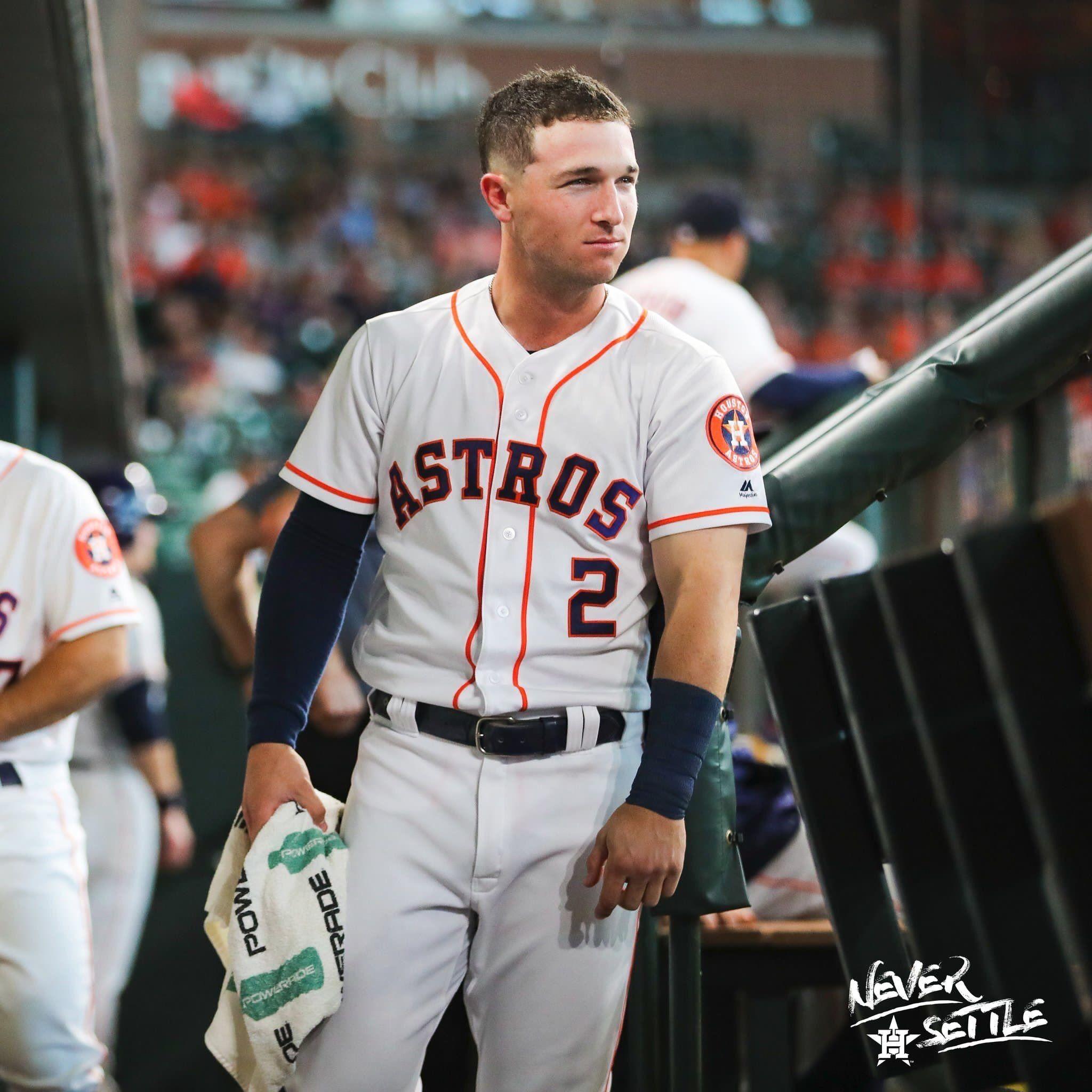 Alex Bregman Houston Astros New Arrivals Baseball Player Fade Jersey