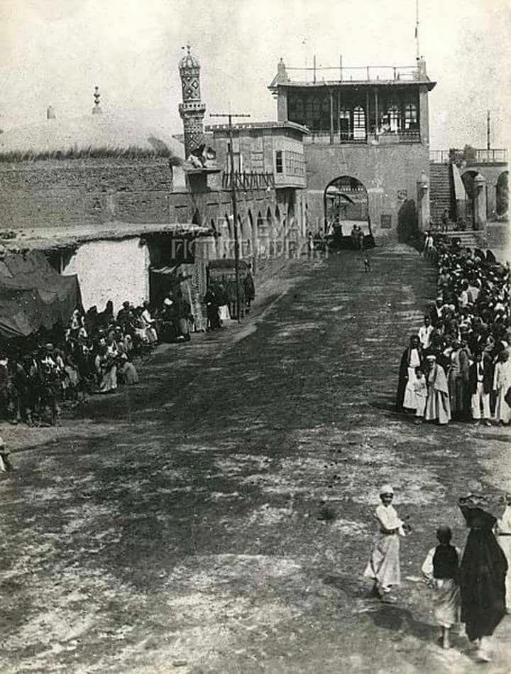 من أبواب بغداد في العهد العثماني - باب المعظم  Da85118cf67daf5d213264eacafd73c4
