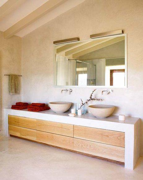 Muebles De Obra Para Baños   Ideas Y Tendencias Para Banos Lavabo Muebles De Bano Y Espejo