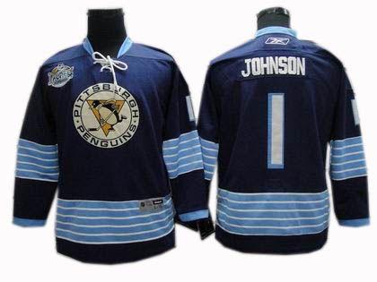 ... cheapest pittsburgh penguins 1 brent johnson 2011 winter classic jersey  dark blue 32.0 4bdcb 133b5 331c81f33