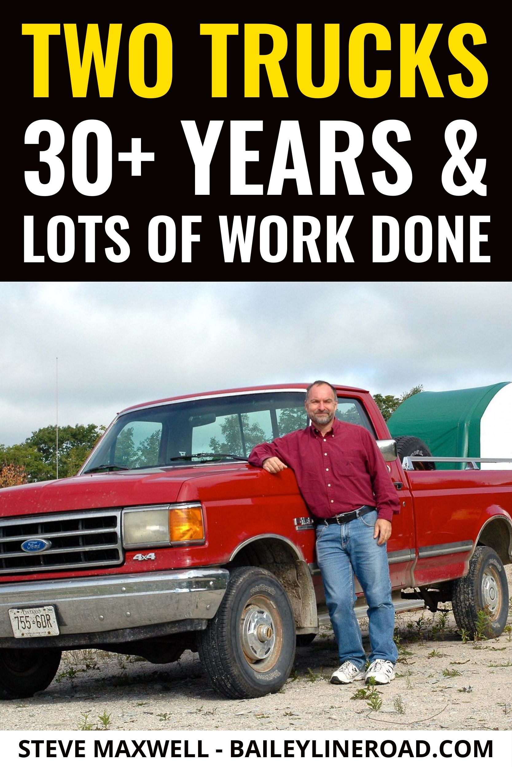 Good Pickup Trucks Never Die Watch The 30 Year Story Of Two
