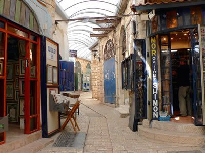 Alley in Tzfat