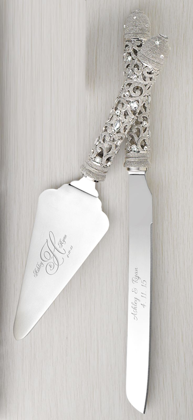 You could #win your #wedding flutes & cake server set! 1. Follow ...