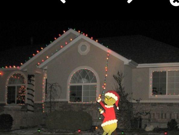 Grinch Christmas Decorations Yard Diy Tree