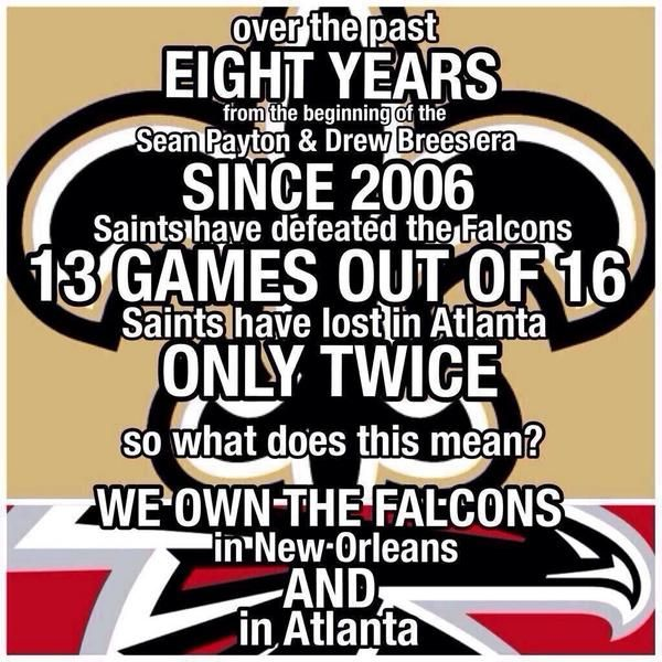 Saints Vs Falcons Whodat New Orleans Saints Football Saints Football Nfl Saints