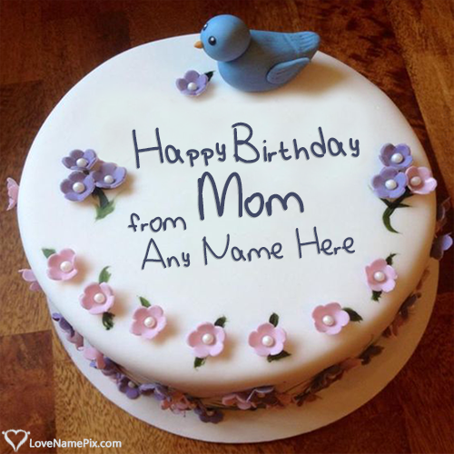 Birthday Cake For Mother From Daughter Name Generator Birthday