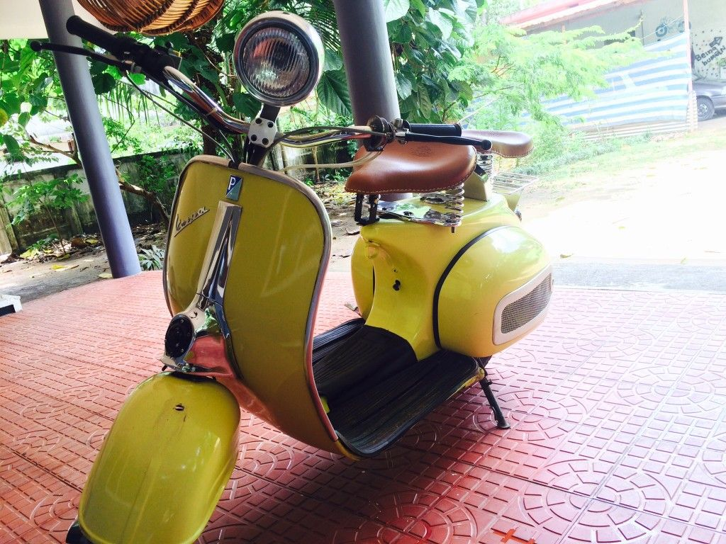 1998 Chetak By Bajaj Modified With Images Vespa Moped