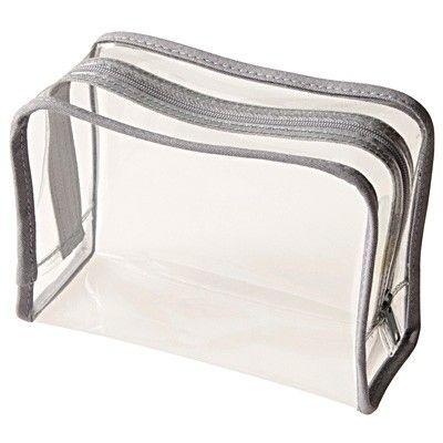 c6d3f18b1832 Clear Toiletries Bag | Get Organized | Clear toiletry bag, Toiletry ...