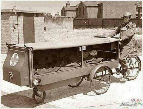 World War I ambulance