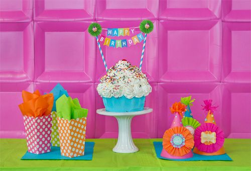 how to make party supplies printable birthday banner free