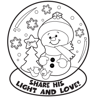 Snow globe coloring page color my world pinterest adult christmas snow globe whit snowman coloring pages for kidsristmas snow globe whit snowman coloring sheets printable for preschoolee online christmas sciox Images