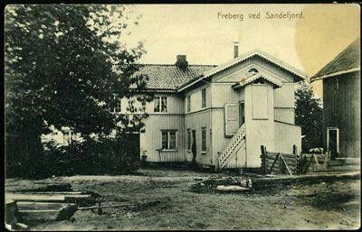 Vestfold fylke Sandefjord ved Freberg