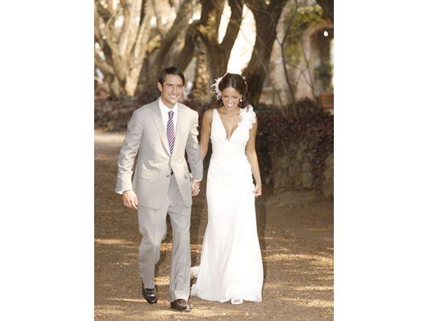 Traje de novio para boda de día, en jardín o en playa   Vestidos de ...
